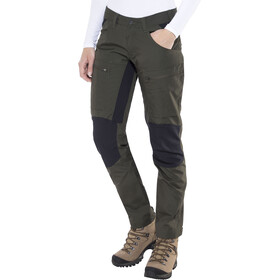 Lundhags Lockne Pantaloni Donna, dark forest green